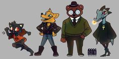 The style in NITW is a BLESSING. But still, I like seeing how other artists capture their characters in their own styles :)