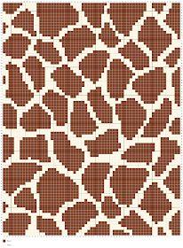 Living the Craft Life Crochet Hook Set, C2c Crochet, Granny Square Crochet Pattern, Crochet Chart, Giraffe Crochet, Giraffe Pattern, Giraffe Print, Knitting Charts, Knitting Patterns