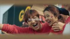 cool LeeMinHo for Kyochon Chicken ↖(^▽^)↗