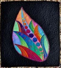 Hand-dyed Fabrics and Threads and Art Quilts by Laura Wasilowski