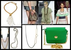 Trend Accessories: Slinky Chains - S/S 2012