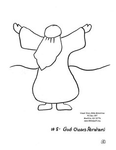 Visual Story Bible - quilt &/or coloring sheets