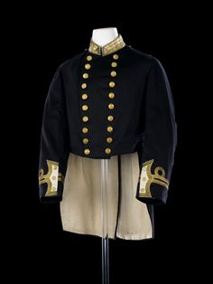 Royal Naval uniform: possibly pattern 1856-91 - National Maritime Museum