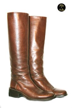 Vintage Joan and David Leather Riding Boots Boho by AlliexAndie