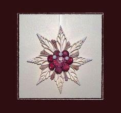 "1 Handmade Med 6"" Cut Chula Sea Shell Ornament"