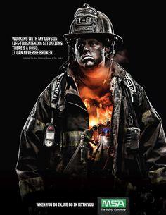 Resultado de imagen para bombero publicidad