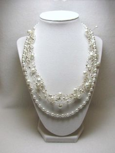 Wedding Delight - Jewelry creation by Linda Foust