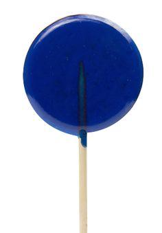 Blue Raspberry - Clear Lolli!
