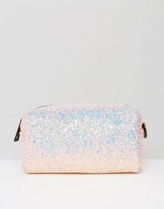 New Look Glitter Make Up Bag