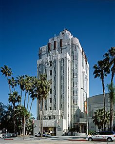 The Sunset Tower Hotel, previously known as The St. James's Club, and The Argyle, is a historic building and hotel located on the Sunset Strip in West Hollywood, California. Opened in 1931, it is considered one of the finest examples of Art Deco architecture in the Los Angeles area. It was the residence of many Hollywood celebrities, including John Wayne and Howard Hughes. The building was added to the National Register of Historic Places in 1980.