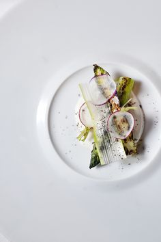 Asparagus with Yogurt, Honey & Lemon