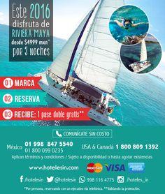 Los Niños van gratis en tus proximo vacaciones en Playa del Carmen. www.hotelesin.com 01-998-294-4702 Playa Del Carmen, Hotels, Vacations
