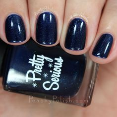 Pretty Serious Cosmetics Ninja-Lish-icous | Post Apocalyptic Princess Collection | Peachy Polish #blue