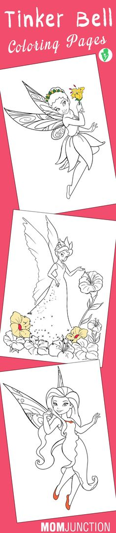 Tinkerbell, also known as Tink is an iconic figure in the Disney community. Here we give you 25 free printable tinkerbell coloring pages for your little kid