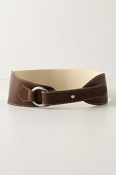 Assymetrical belt $48 #belt #Anthropologie