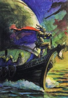 Cap'n's Comics: Darkness Weaves by Frank Frazetta