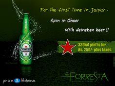 Heineken Beer launch #cocktail #jaipur #nightlife