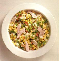 Salada de Milho com Frango - https://www.receitassimples.pt/salada-de-milho-com-frango/