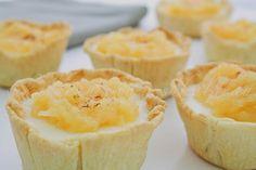 e-cocinablog: pastelitos de queso y cuajada con compota de manza...