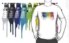 Dr. Who Dalek Chromatic Tshirt
