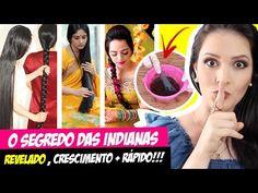 O Segredo das Indianas para o Cabelo Crescer Rápido - Receita Caseira Milenar! por Julia Doorman - YouTube