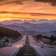 in Colorado one of my favorite views Colorado Springs, Le Colorado, Living In Colorado, Colorado Mountains, Rocky Mountains, Visit Colorado, Alberta Canada, Aspen, Places To Travel