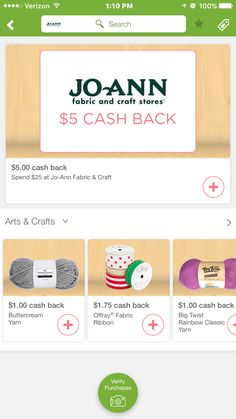 ibotta  join the Ibotta team click here to sign up for the Ibotta app you earn discounts at the register as well as money towards gift cards. many stores that you already shop at and items you're already going to buy.