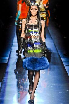 STYLING Fashion Art :: Graffiti Dress - Jean Paul Gaultier