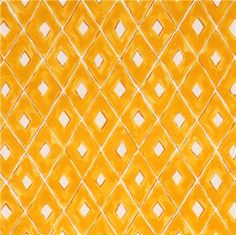off-white pretty yellow diamond shape fabric from Japan 2
