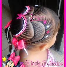 :D 3 corazon Hair Dos For Kids, Braids For Kids, Kids Braided Hairstyles, Girl Hairstyles, Toddler Hairstyles, Girl Hair Dos, Corte Y Color, Hair Styles, Samara