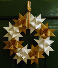 Danish Star Wreath — Ooh!