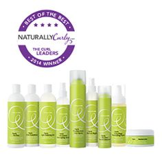"""DevaCurl voted """"Best Professional Line"""" for NaturallyCurly Best of the Best 2014. Thousands of NaturallyCurly community members voted for their favorite products, tools and necessities for curly, coily and wavy hair."""