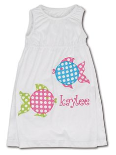 Kelly's Kids swimsuit cover up.... CUTE!