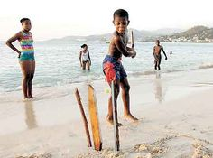 What is about cricket that brings a smile? Just a hint of the game and one feels nice.