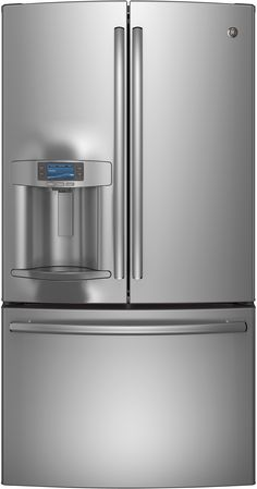 Profile 27.7 Cu. Ft. Stainless Steel French Door Refrigerator - Energy Star