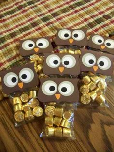 #party #owl # favors