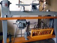 VintageMachinery.org - Photo Index - Delta Manufacturing Co. - Delta/Milwaukee No.1460 Wood Lathe