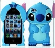 Disney Stitch Hard Case Cover for iPhone 4 : Video Games Accessories Wholesale Ipod Cases, Cute Phone Cases, Iphone Phone Cases, Phone Covers, Disney Stitch, Lilo And Stitch, Coque Ipod, Disney Phone Cases, Cute Stitch