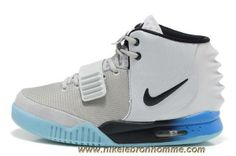 low priced 17619 d6d87 Nike Air Yeezy II Hommes Chaussures Gray Bleu Sortie Nike Zoom, Nike Lebron,  Lebron
