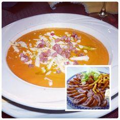 Toca reponer fuerzas y hoy elegimos un menú muy cordobés... ¿te gusta? / Lunch time! Do you like the menu?  #lomejordetodos #tumejortu #Cordoba #Andalucia #Andalusia #España #Spain #turismo #tourism #viajes #viajar #travel #gastronomía #cuisine #food #foodie #verano #summer #turismoandaluz #viveandalucia