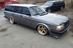 Old school Volvo estate modified