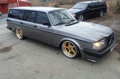 Old school Volvo estate modified