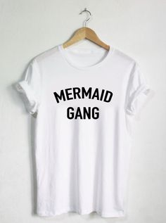 Mermaid Tshirt, Womans Girls Adult Tee, Mermaid Shirts,  Shirts, Fishes Ocean, Mermaid Tops, Koi, Cute Trendy Tumblr Tops, Princess by HangerSwag on Etsy https://www.etsy.com/listing/269800879/mermaid-tshirt-womans-girls-adult-tee