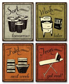Laundry Prints
