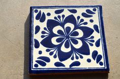 """12 Mexican Talavera Tiles. Hand made-Hand painted 4 """"X 4"""""""