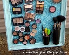7 DIY Makeup Organizers