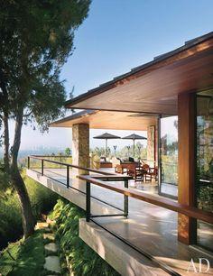 Jennifer Aniston's house - Designer: Stephen Shadley / Arquiteto:  Harold W. Levitt