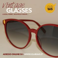 Vintage Glasses Made in Italy and original, occhiali da sole Made in Italy originali Vintage anni 60/70/80 scoprili adesso su:  www.club365.it