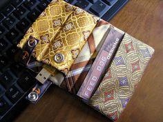 Necktie Business Wallet (open)