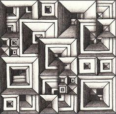 Прикосновение к Миру Творчества...: Zentangle. Melkota: Dex